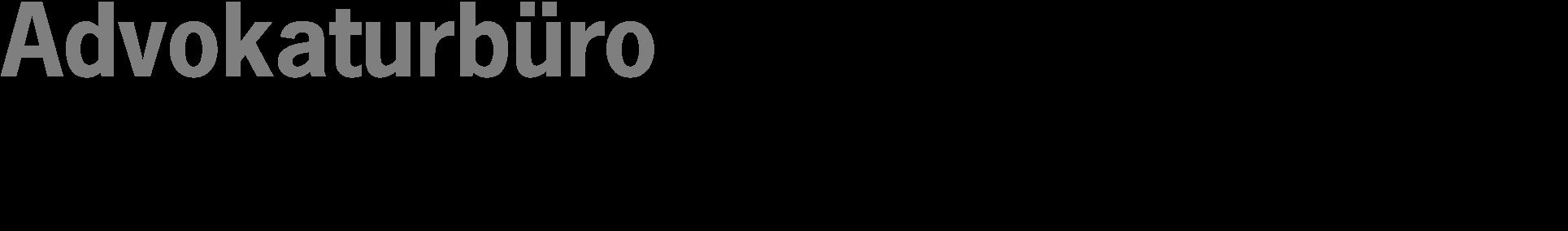 Advokaturbüro Keller Schmutz Eisenhut Stucki Logo